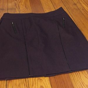 NWOT eggplant Stitch Fix 41 Hawthorn skirt, L